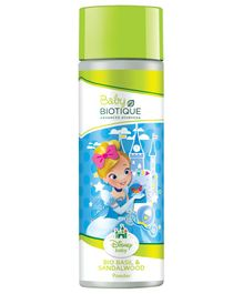 Baby Biotique Disney Princess Cinderella Bio Basil & Red Sandalwood Powder - 150 gm