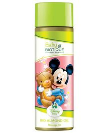 Baby Biotique Mickey Mouse Bio Almond Massage Oil - 200 ml