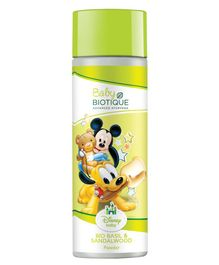 Baby Biotique Mickey Mouse & Friends Bio Basil & Red Sandalwood Powder - 150 gm
