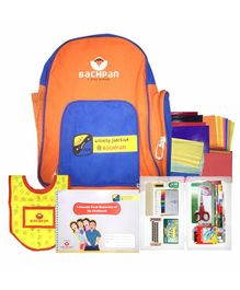 Bachpan Craftland Beginner Activity Book With Kit - English