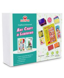 Bachpan Craftland Advanced Activity Book With Kit - English