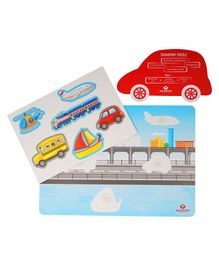 Bachpan Transport Activity Kids Puzzle - Multicolor