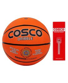 Cosco Dribble Basket Balls Size 5 - Orange
