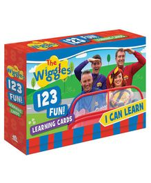Wilco International Wiggles Opposites Flash Card Pack of 14 - Multicolor