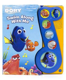 Wilco International Finding Dory Swim Along With Me Musical Book - English