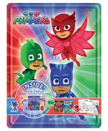 Wilco International PJ Mask Collector Activity Book - English