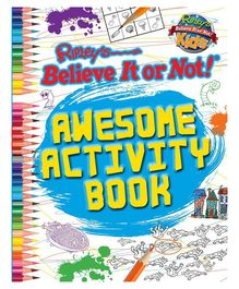 Wilco International Ripley's Believe It Or Not! Awesome Activity Book - English