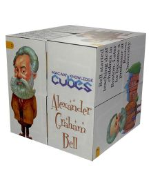 Macaw Scientist Cube - 1 Cube - Alexander Graham Bell Graham Bell