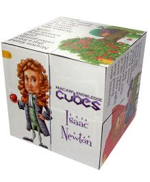 Macaw Scientist Cube - Isaac Newton
