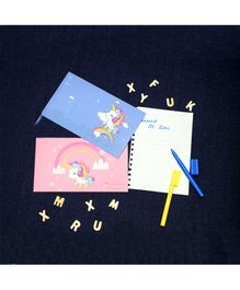 The Story Saga Unicorn Envelope Multicolor - Pack of 10