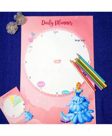 The Story Saga Cinderella Daily Planner Set of 10 - Pink
