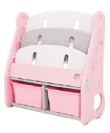The Tickle Toe Toy Storage Book Shelf - Pink