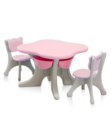 The Tickle Toe Table Chair Set - Pink