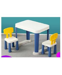 The Tickle Toe Table Chair Set - Blue