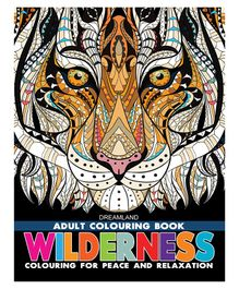 Dreamland Publications Wilderness Colouring Book for Adults - English