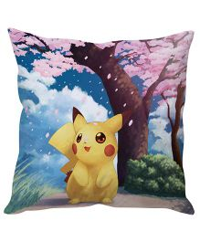 Stybuzz Pikachu Cushion Cover - Multi Color