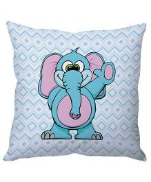 Stybuzz Elephant Cushion Cover - Blue