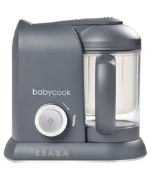 Beaba Babycook Solo 4 in 1 Steam Cooker & Blender - Dark Grey
