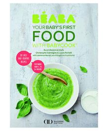 Beaba Babycook Book My First Meal - English