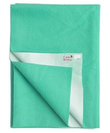 Beebaby UltraDry Baby Bed Protector Small - Mint Green