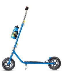 Dash Foldable Heavy Duty Two Wheel Scooter With Water Bottle - Blue