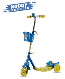 Dash Noddy 3 Wheel Scooter With Storage Basket & Bell - Blue