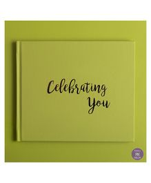 KUWTB Celebrating You Birthday Book Celery Green - English