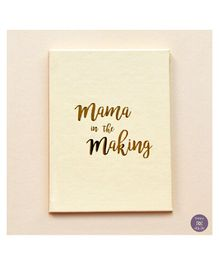KUWTB Mama In The Making Pregnancy Journal - English
