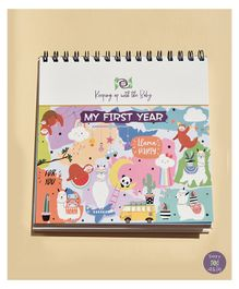 KUWTB My First Year New Born Calender - English