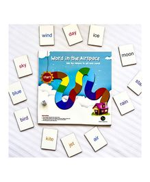 Ilearnngrow Word In The Airspace Board Game - Multicolour