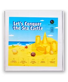 ilearnngrow Lets Conquer the Sand Castle Board Game - Multicolor