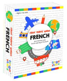 Lingo Starz First Thirty Words Flashcards - French