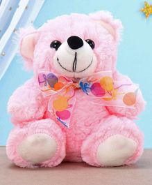 Kids Kaart Bear Soft Toy Pink - Height 14.5 cm