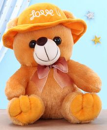Kids Kaart Bear Soft Toy Brown - Height  21 cm