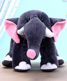 Kids Kaart Elephant Soft Toy Blue - Height 18.5 cm