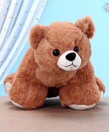 Kids Kaart Polar Bear Soft Toy Brown - Height 16.5 cm