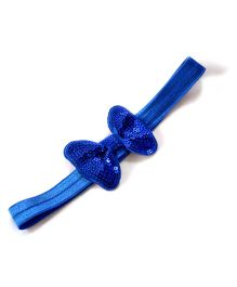 Little Miss Cuttie Stylish Headband - Blue