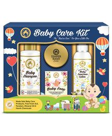 Mom & World Baby Care Collection Gift Pack of 4 - White