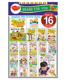 Sawan Mini Activity Book Pack Of 16  - English