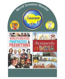 Sawan World Greatest Wonder Set of 2 Books - English