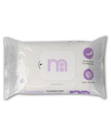 Mother Care Baby Wipes With Fragrance - 60 Pieces