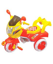 Funride Commet Tricycle with Music & Light - Red