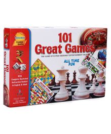 Yash Toys 101 Great Games Board Game - Multicolor