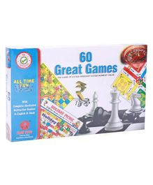 Yash Toys 60 Great Games - Multicolor