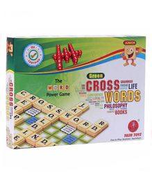 Yash Toys Crossword Board Game - Multicolor