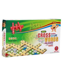 Yash Toys Crossword Board Game Deluxe - Multicolor