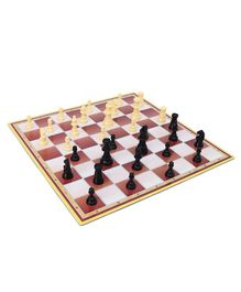 Yash Toys Crossword & Chess 2 in 1 Board Game - Multicolor