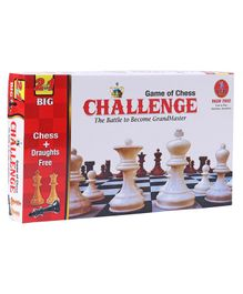Yash Toys Drought & Chess 2 in 1 Board Game - Multicolor