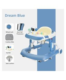 StarAndDaisy Multifunctional Baby Walker with Music Box - Blue
