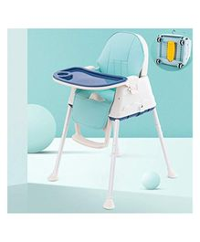 StarAndDaisy 3 in 1 Cushioned High Chair with Child Tray - Dark Blue